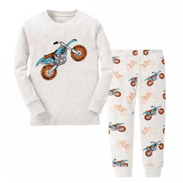 """Детская пижама для мальчика из 2 предметов """"Быстрый байк"""""""