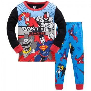 """Детская пижама для мальчика из 2 предметов """"Лига Справедливости. Защитники города"""""""