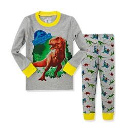 """Детская пижама для детей из 2 предметов """"Парк юрского периода. Свирепый Рекс - 2"""""""