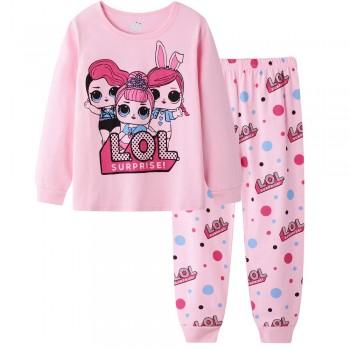 """Детская пижама для девочки из 2 предметов """"Веселые куклы. Подруги"""""""