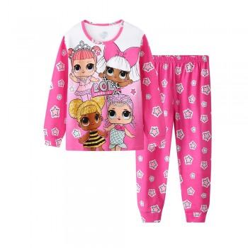 """Детская пижама для девочки из 2 предметов """"Веселые куклы. Вечеринка"""""""