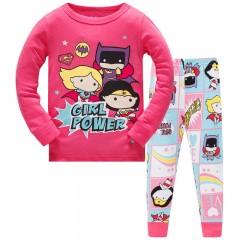 """Детская пижама для девочки из 2 предметов """"Супер девочки. Маленькие герои"""""""