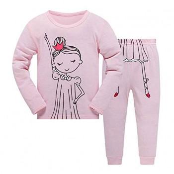 """Детская пижама для девочки из 2 предметов """"Сонная принцесса"""""""