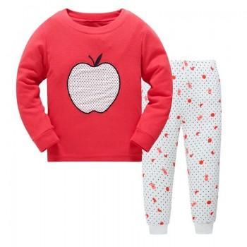 """Детская пижама для девочки из 2 предметов """"Белое яблоко"""""""