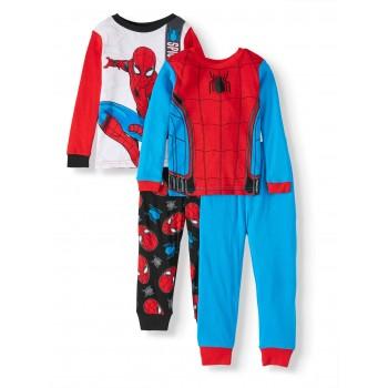 """Детская пижама для мальчика из 4 предметов """"Человек Паук. Сила мысли"""""""