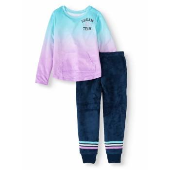 """Детская пижама меховая из 2 предметов для девочки """"Сладкие сны - 1"""""""