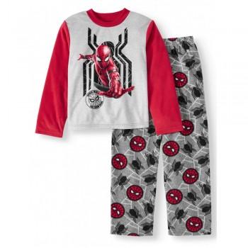 """Детская пижама микрофлисовая из 2 предметов для мальчика """"Человек Паук. Меткий выстрел"""""""
