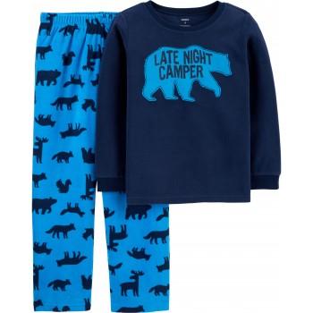 """Детская пижама микрофлисовая из 2 предметов для мальчика """"Северный медведь - 2"""""""