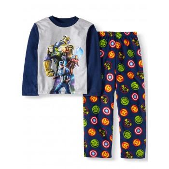 """Детская пижама микрофлисовая из 2 предметов для мальчика """"Мстители. Танос"""""""