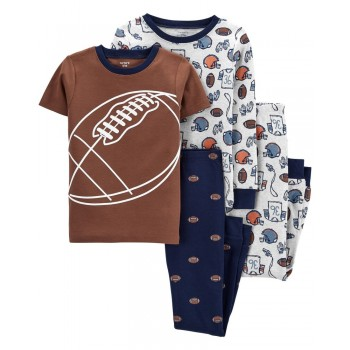 """Пижама из 4 предметов для мальчика """"Американский футбол"""""""