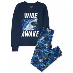 """Пижама из 2 предметов для мальчика """"Древние акулы"""""""
