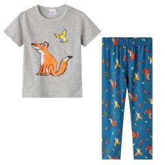 """Детская пижама для мальчика из 2 предметов """"Лесные жители"""""""