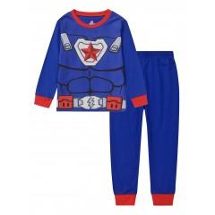 """Детская пижама для мальчика из 2 предметов """"Капитан Америка. Боевой костюм"""""""
