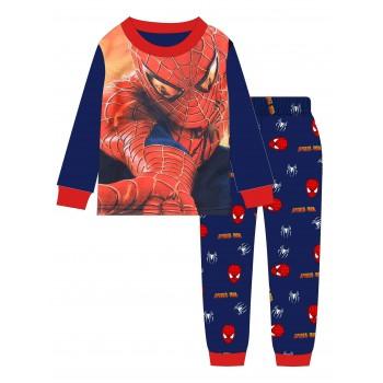 """Детская пижама для мальчика из 2 предметов """"Человек паук. Лицо героя"""""""