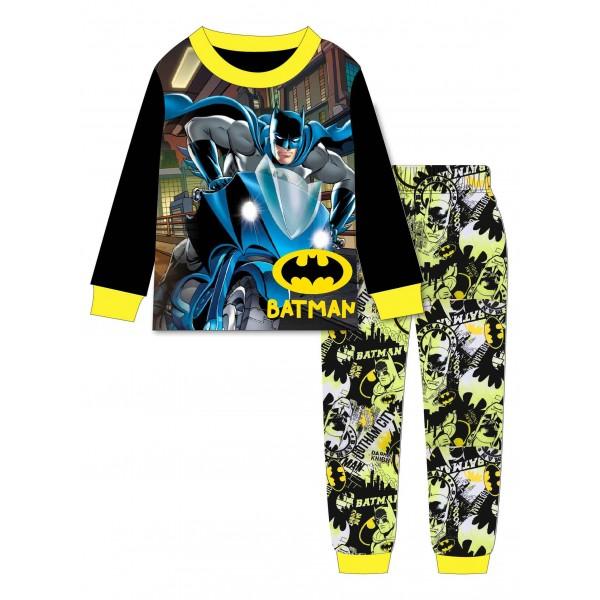 """Детская пижама для мальчика из 2 предметов """"Бэтмен. Крутой байк"""""""