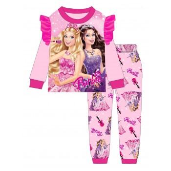 """Детская пижама для девочки из 2 предметов """"Барби. Концерт"""""""