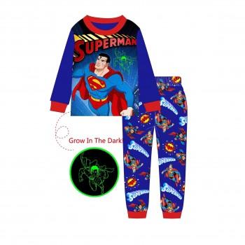 """Детская пижама для мальчика из 2 предметов """"Супермен. Герой в городе - 2"""""""