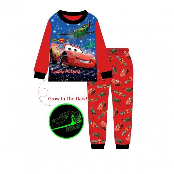 """Детская пижама для мальчика из 2 предметов """"Тачки. Быстрый Маккуин - 2"""""""