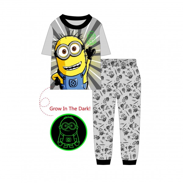 """Детская пижама для детей из 2 предметов """"Миньоны. Привет"""""""