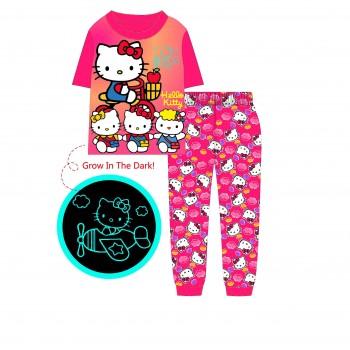 """Детская пижама для девочки из 2 предметов """"Хелло Китти. Подружки"""""""