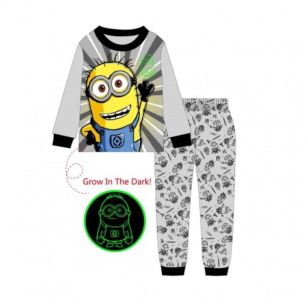 """Детская пижама для детей из 2 предметов """"Миньоны. Привет - 2"""""""
