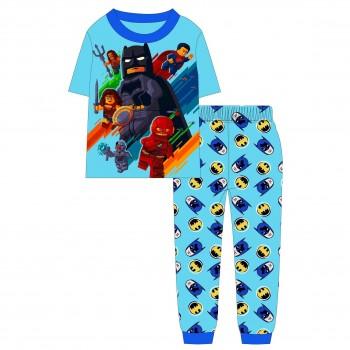 """Детская пижама для мальчика из 2 предметов """"Бэтмен. Команда героев"""""""
