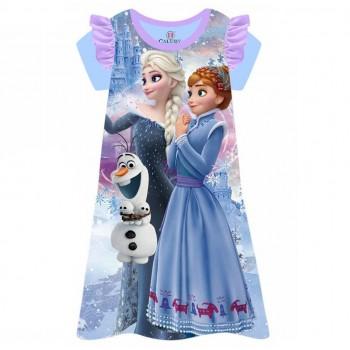 """Детская пижама - ночная рубашка для девочки """"Холодное сердце. Зимняя сказка"""""""