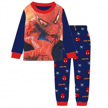 """Детская пижама для мальчика из 2 предметов """"Человек паук. Лицо героя - 2"""""""