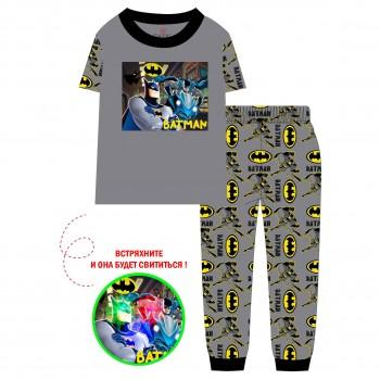 """Детская пижама для мальчика из 2 предметов """"Бэтмен. Герои не спят"""""""