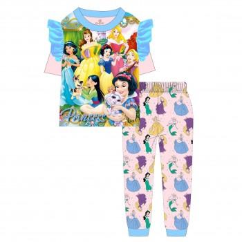 """Детская пижама для девочки из 2 предметов """"Клуб принцесс. Принцессы"""""""