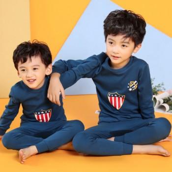 """Детская пижама для детей из 2 предметов """"Капитан Америка. Команда героя"""""""