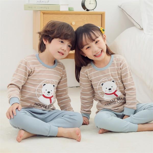 """Детская пижама для детей из 2 предметов """"Снежный мишка"""""""