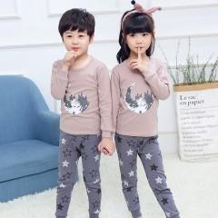 """Детская пижама для детей из 2 предметов """"Лунный город"""""""