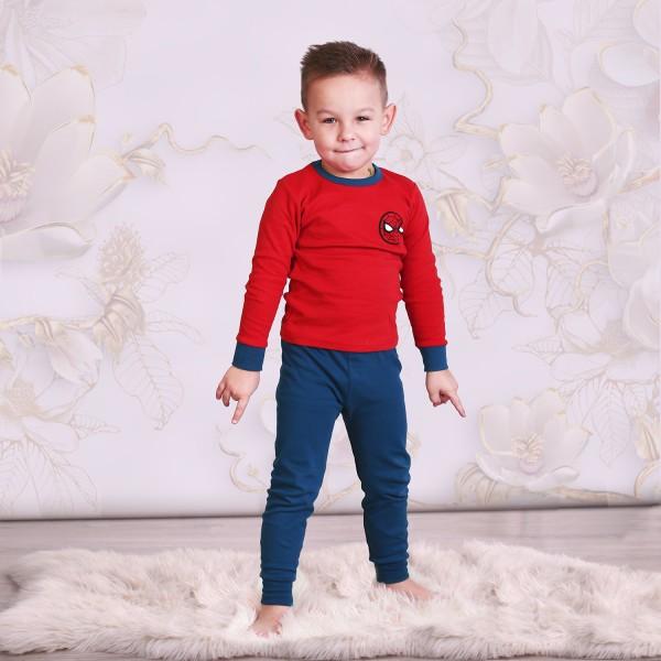 """Детская пижама для детей из 2 предметов """"Человек Паук. Команда паука"""""""