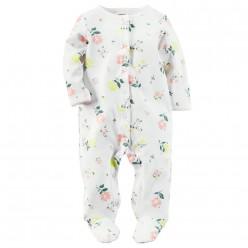 """Слип хлопковый для новорожденной """"Нежное дыхание цветов"""""""